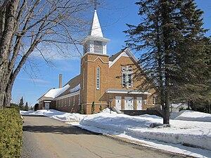 Saint-Mathieu-du-Parc, Quebec - Image: Église Saint Mathieu du Parc