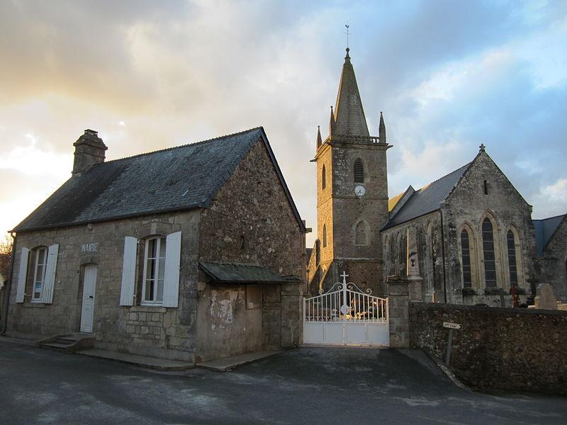 Église Sainte-Trinité de fr:Teurthéville-Bocage