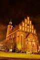 Żary, Kościół p.w. Najśw. Serca Pana Jezusa, ujęcie w nocy.jpg