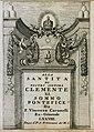 Αφιέρωση του συγγραφέα στον Πάπα Κλήμη ΙΑ΄ - Coronelli Vincenzo Maria - 1708.jpg