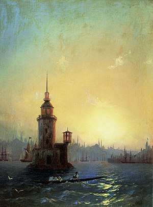 The Maiden's Tower, also known in the ancient ...