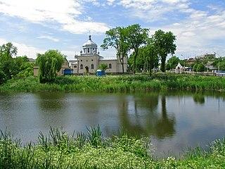 Andrushivka City in Zhytomyr Oblast, Ukraine