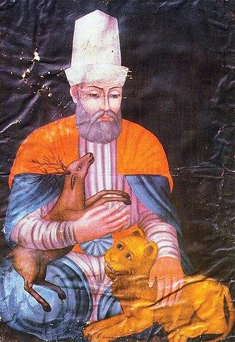 Haji Bektash Veli - Portrait of Haji Bektash