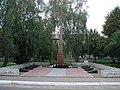Братська могила радянських воїнів, Брусилів, центр.JPG
