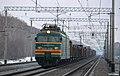 ВЛ11-038, Россия, Новосибирская область, перегон Обь - Чик (Trainpix 75281).jpg