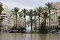 Валенсия. Пальмы на площади мэрии. - panoramio.jpg