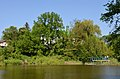 Верхнє озеро-ставок з Китаївського каскаду, вул. Китаївська, 17.jpg
