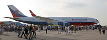 Ilyushin Il-96 can be used as a passenger or cargo aircraft, and can accommodate between 235 and 436 passengers.