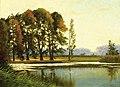 Михаил М. Гужавин - Весна ландшафта с озером.jpg