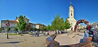 Smederevo - Image: Црква Св. Георгија у Смедереву 3