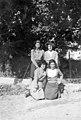 בנות כפר תבור 1945 עומדות מימין- מאירה לוין חסיה לובנוב כורעות מימין- btm5816.jpeg