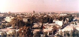 מבט על העיר באר שבע, אמצע שנות השמונים
