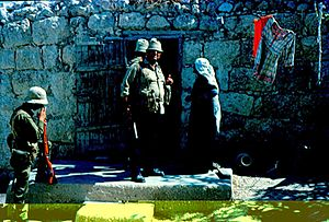 Imwas - The expulsion of the residents of Imwas, 1967