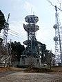 栃原テレビ中継局・ドコモ無線中継所 2011.3.15 - Panoramio 49500330.jpg