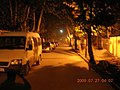 淮南市市委南门改造后的街道路灯 - panoramio.jpg