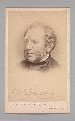 Charles Landseer - Charles Landseer in the 1860s