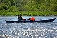 02018 0315 Kajaktour auf dem Sanfluss durch die Ost-Beskiden, Oberes Santal in Trepcza (Miedzybrodzie).jpg