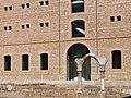 051 Sant Miquel dels Reis (València), pati nord, arc de Sant Benet de Rascanya.jpg