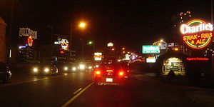 """The Strip"" (Highway 76) in Branson,..."