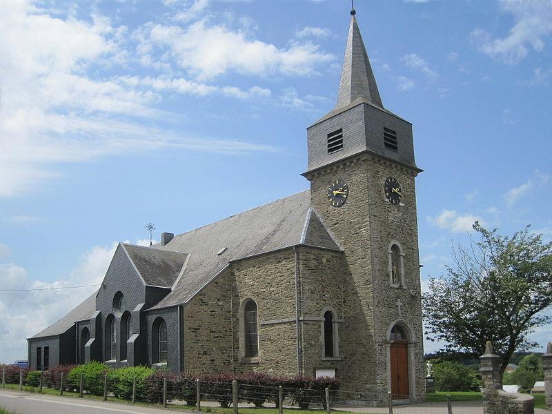 Laneuville (Belgique), l'église Saint-Roch (1931).