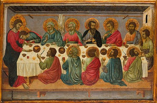 The Last Supper - Ugolino di Nerio