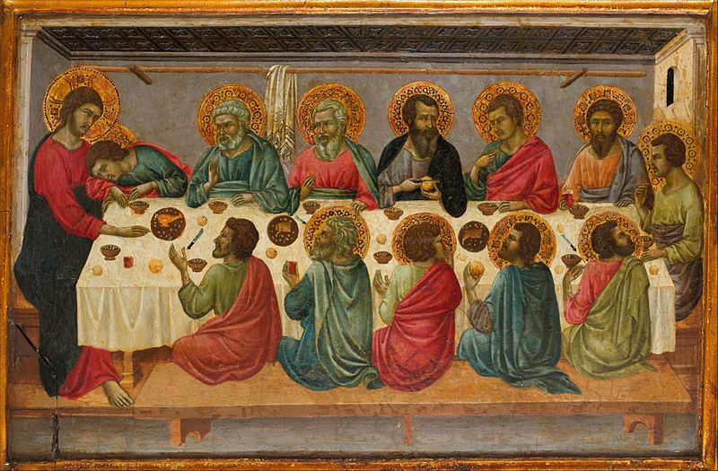 File:1г Ugolino di Nerio. The Last Supper Metropolitan mus. N-Y.jpg