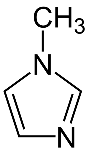 1-Methylimidazole - Image: 1 Methylimidazole