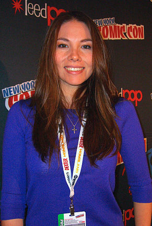 Marjorie Liu - Liu at the 2012 New York Comic Con