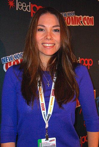 Marjorie Liu - Liu at the 2012 New York Comic Con