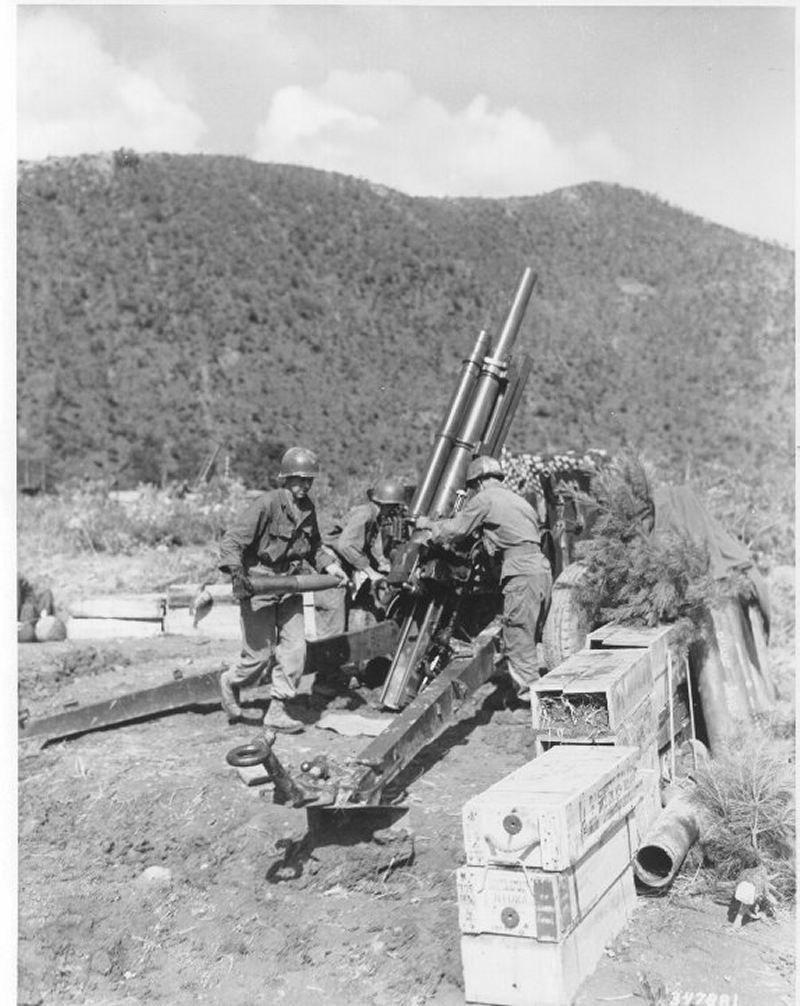105-mm-howitzer-korea