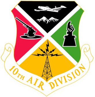 10th Air Division - Image: 10th Air Division crest
