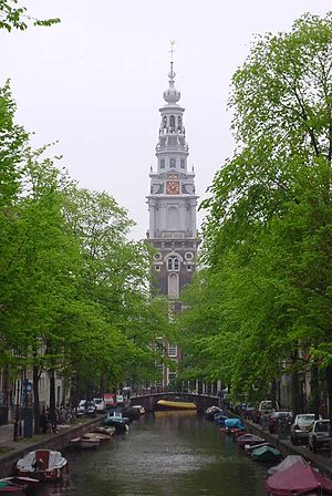 The Hemony carillon of the Zuiderkerk in Amste...