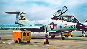 132d Air Refueling Squadron - F-101B Voodo 58-0293, 1974