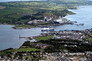Larne civil parish in County Antrim, Northern Ireland