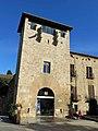 150 Monestir de Sant Cugat, torre d'entrada al recinte.JPG