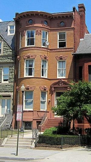 William Henry Harrison Morris Jr. - Morris's former residence in Washington, D.C.