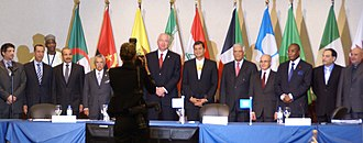 OPEC - OPEC Conference delegates at Swissotel, Quito, Ecuador, December 2010