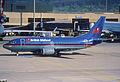 15aw - British Midland Airways Boeing 737-500; G-BVZG@ZRH;22.03.1998 (8232571180).jpg
