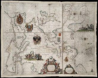 Pieter Goos - Image: 1658 Wassende v Nierop
