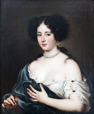Jacob Ferdinand Voet - Clelia Cesarini Colonna, Duchess of Sonnino, as Cleopatra