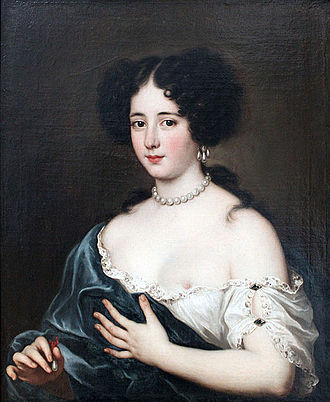 Jacob Ferdinand Voet - Clelia Cesarini Colonna, Duchess of Sonnino, as Cleopatra