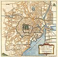 1752 Schely Plan or Map of Edo or Tokyo, Japan - Geographicus - EdoTokyo-schley-1752.jpg