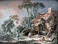 1758 Boucher Landschaft mit Bauernhaus anagoria.JPG
