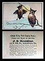 1880 - J S Kreidler - Trade Card - Allentown PA.jpg
