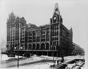 Broad Street Station (Philadelphia) - The Station in 1903.