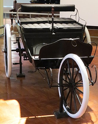 Duryea Motor Wagon Company - 1899 Duryea on display at the Henry Ford Museum