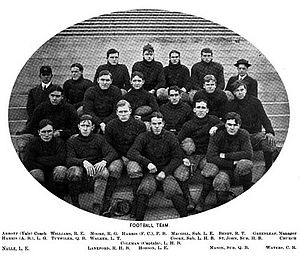 1901 Virginia Cavaliers football team - Image: 1901UVAfootball