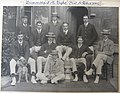 1902 - University College, Oxford Rowing VIII - far right (with boater) Henry Dubs Middleton, Chairman of Leeds General Infirmary 1928-1932.jpg
