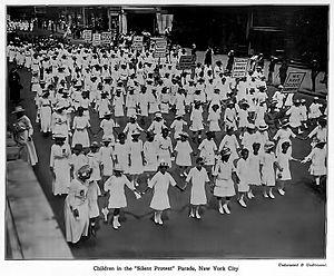Silent Parade - Image: 1917 Silent Parade large sharp E