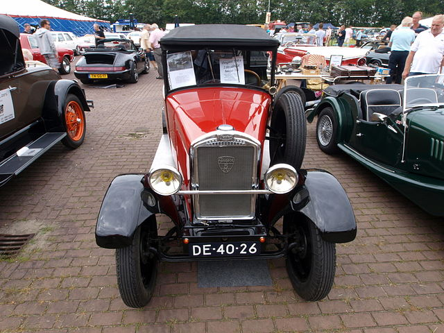 Image of 1930 Peugeot, Dutch licence registration DE-40-26 p5